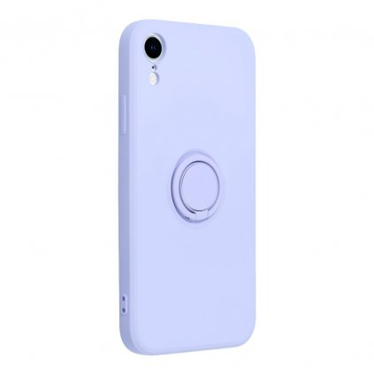 187101 2 pouzdro forcell silicone ring apple iphone xr fialove