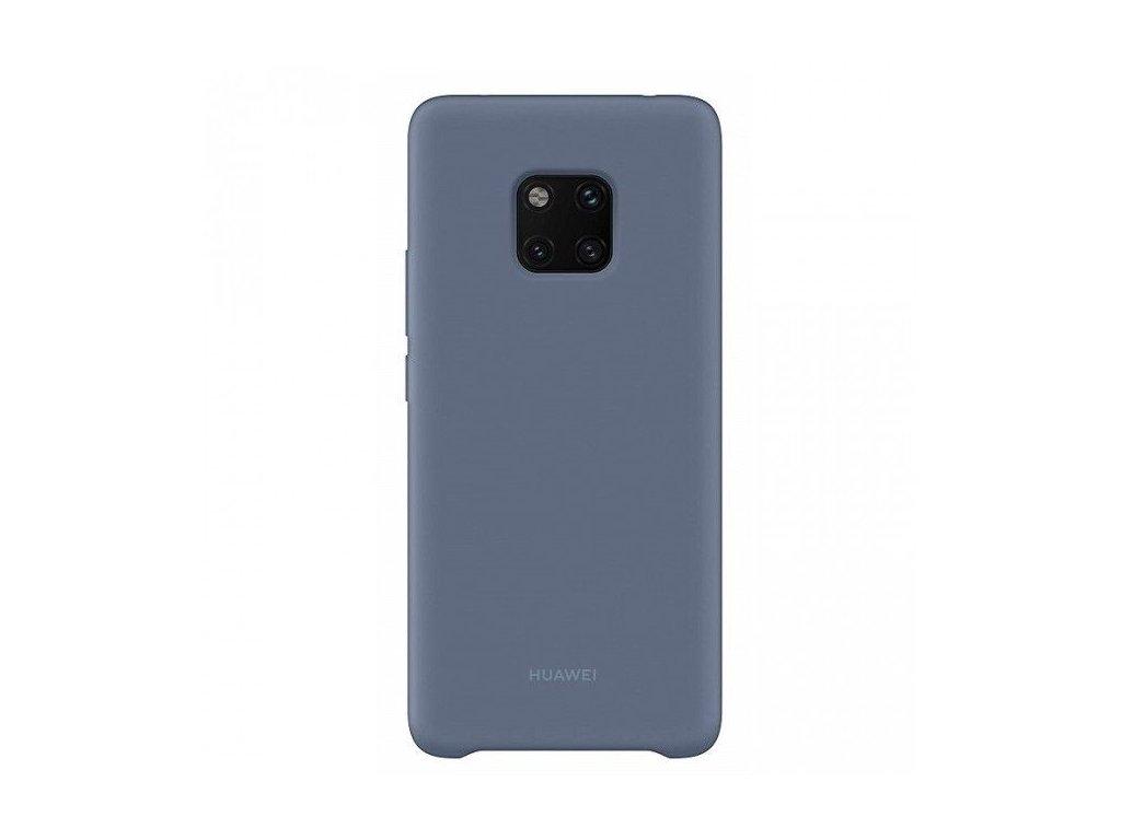 Ochranné silikónové puzdro Huawei Mate 20 Pro modré