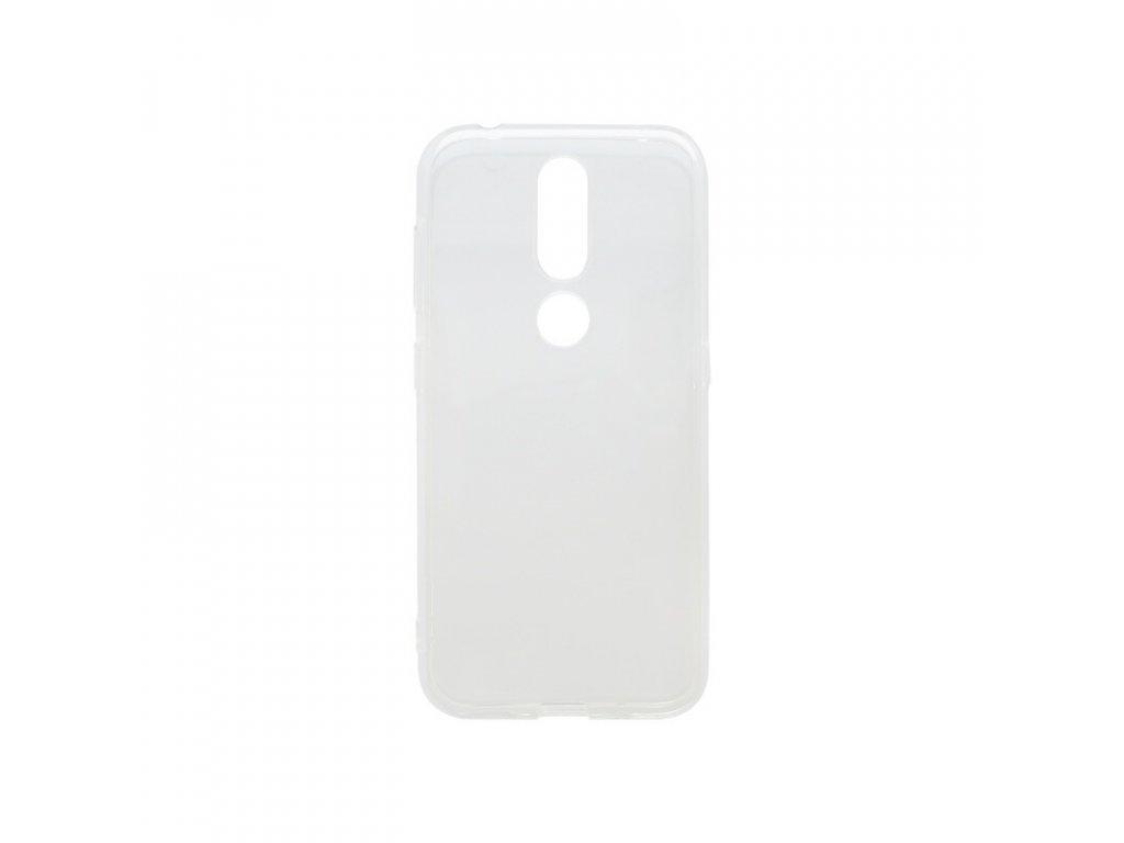Silikónové puzdro Nokia 4.2 priehľadné, nelepivé