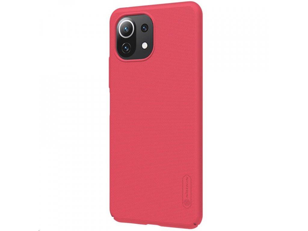Nillkin Super Frosted Zadní Kryt pro Xiaomi Mi 11 Lite 4G/5G Bright Red