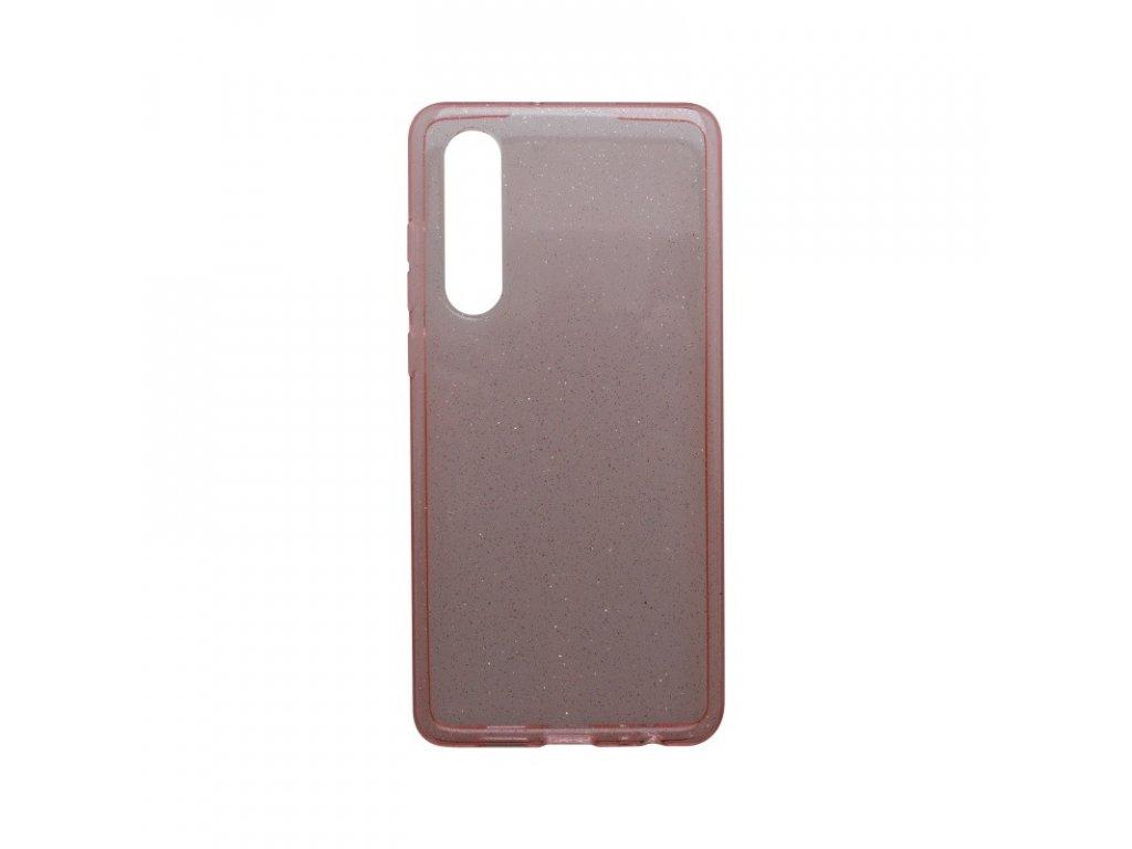 Silikónové puzdro Crystal Huawei P30 ružové