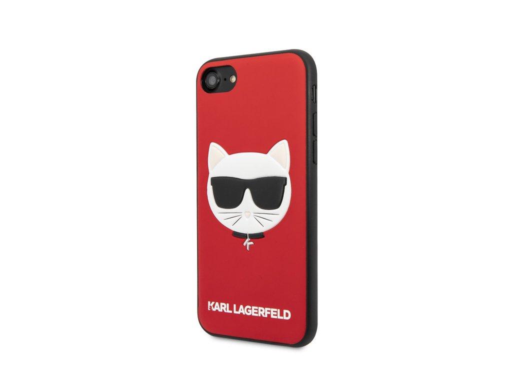 karl lagerfeld puzdro plastove apple iphone 78 klhci8glre cerven 95952