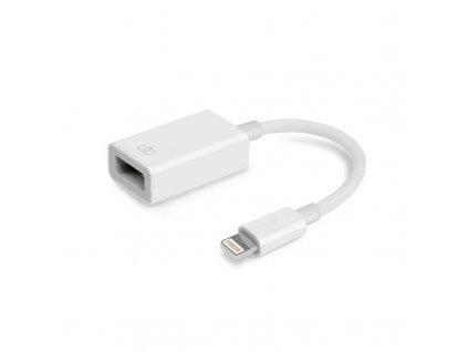 Biely OTG Lightning adaptér. kábel (ECO balenie)