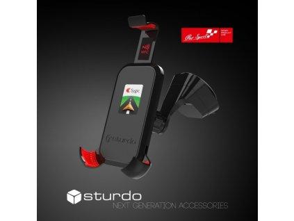 NFC Stojan do auta Sturdo Pro Sport, čierny + Sygic (pre Android)
