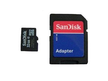 microSDHC 32GB SanDisk Class 4 w/a (Bulk)