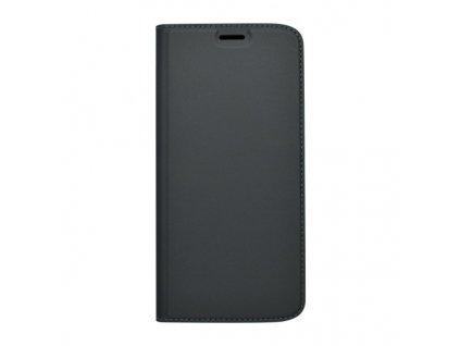 Knižkový obal Metacase Moto E5 čierny