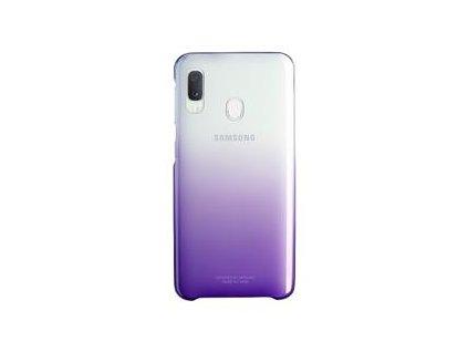 EF-AA202CVE Samsung Gradation Kryt pro Galaxy A20e Violet