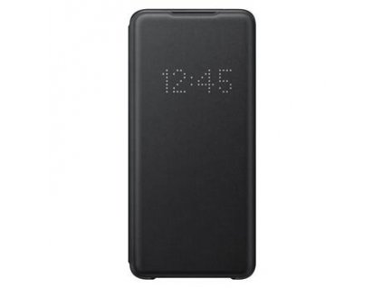 EF-NG988PBE Samsung LED S-View Pouzdro pro Galaxy S20 Ultra Black