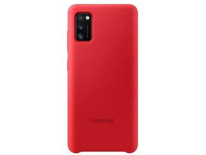 EF-PA415TRE Samsung Silikonový Kryt pro Galaxy A41 Red