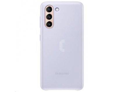 EF-KG991CVE Samsung LED Kryt pro Galaxy S21 Violet