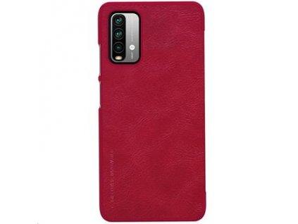 Nillkin Qin Book Pouzdro pro Xiaomi Redmi 9T Red