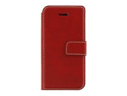 Molan Cano Issue Book Pouzdro pro Motorola E7 Red