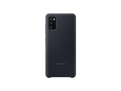 EF-PA415TBE Samsung Silikonový Kryt pro Galaxy A41 Black