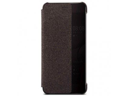 Knižkové, flipové puzdro Huawei P10 Plus Vicky View, hnedé