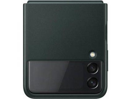 EF-VF711LGE Samsung Kožený Kryt pro Galaxy Z Flip 3 Green