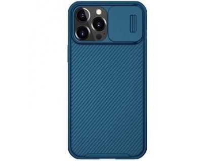 Nillkin CamShield Pro Magnetic Zadní Kryt pro iPhone 13 Pro Max Blue