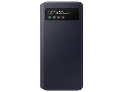 EF-EA515PBE Samsung S-View Pouzdro pro Galaxy A51 Black (Pošk. Balení)