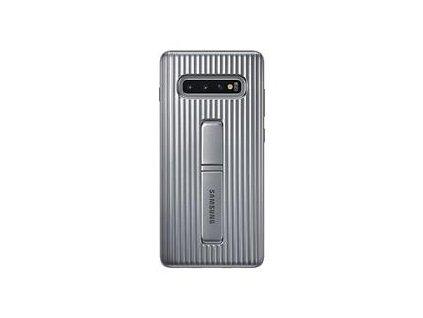EF-RG975CSE Samsung Standing Cover Silver pro G975 Galaxy S10 Plus (EU Balení)