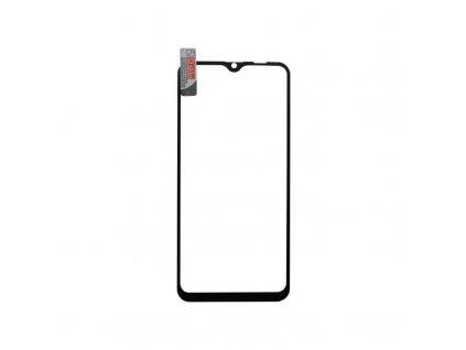 Tvrdené sklo Samsung Galaxy A10, čierne, full glue + silikon