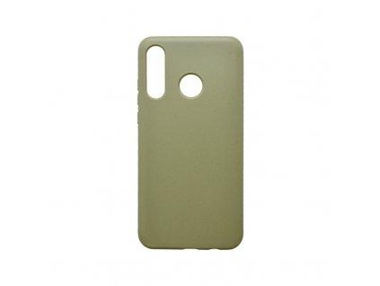 mobilNET recyklovateľné gumené puzdro Eco Huawei P30 Lite khaki