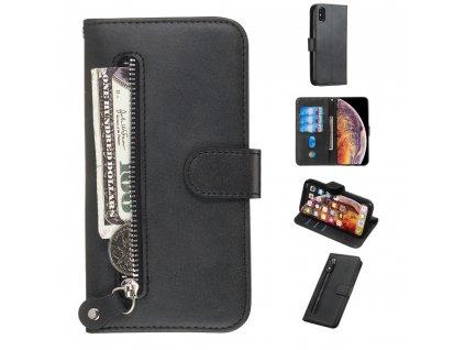 Knižkové púzdro so zipsom iPhone 8