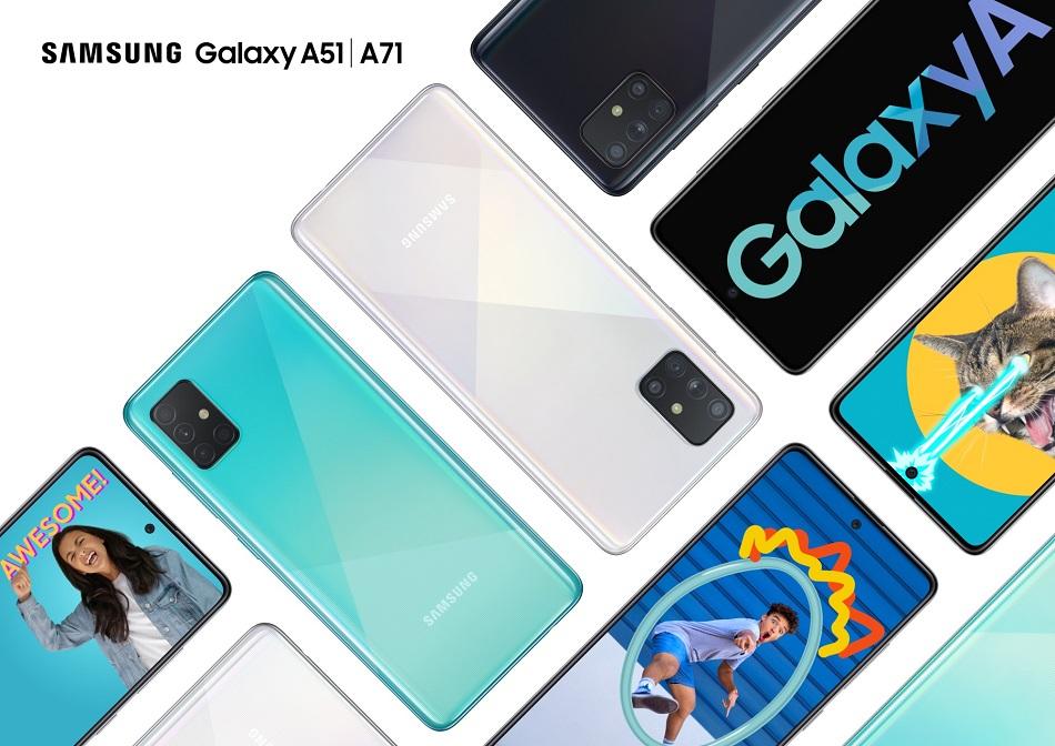 Samsung představil Galaxy A51 a Galaxy A71