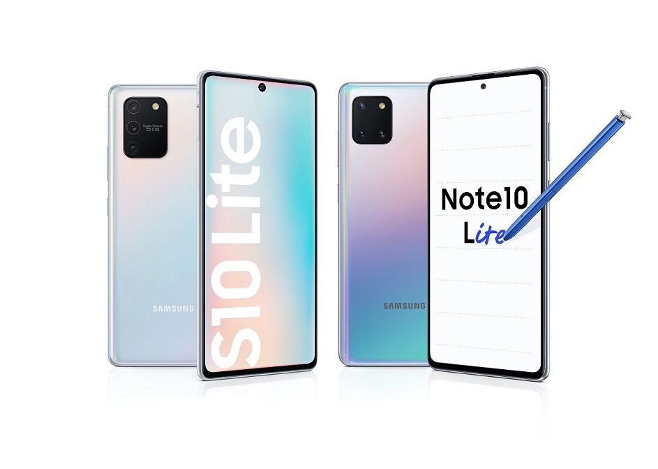 Novinky Samsung S10 Lite a Note 10 Lite nejsou očesané