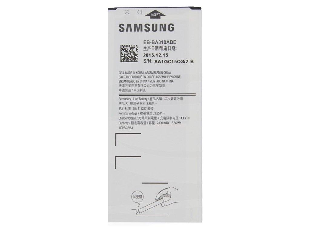Samsung Galaxy A3 2016 (A310) - Výměna baterie