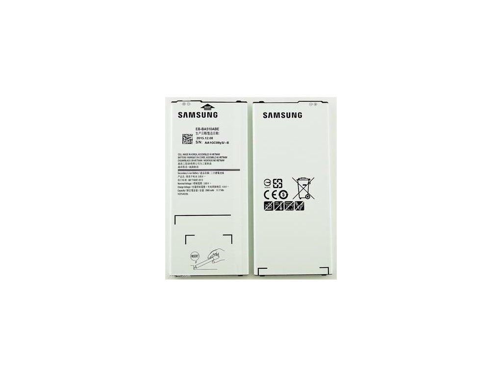 Samsung Galaxy A5 2016 (A510) - Výměna baterie