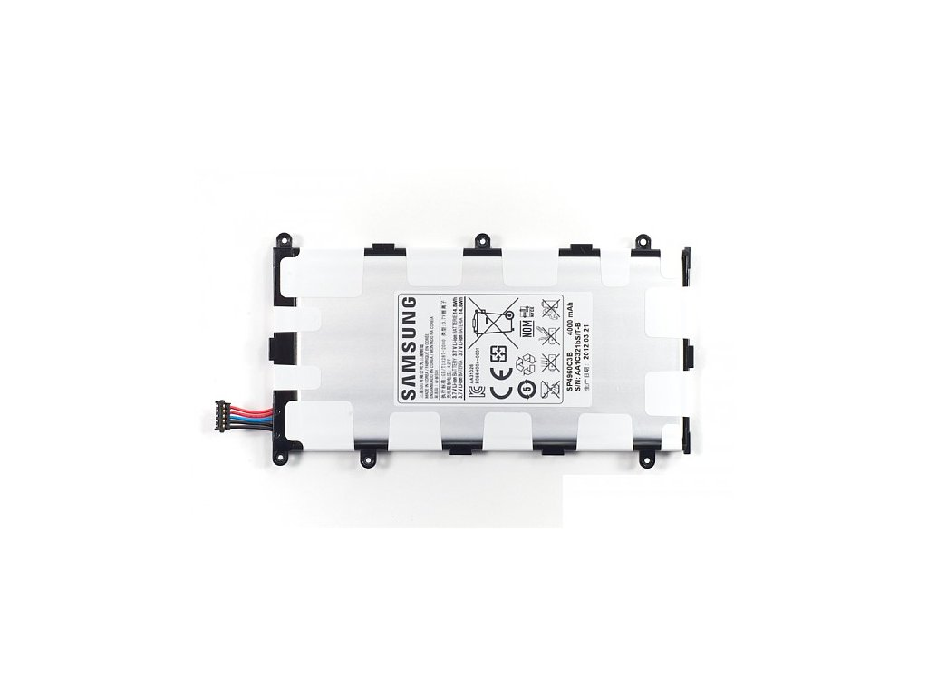 Samsung Galaxy TAB 7.7 P6200- Výměna baterie