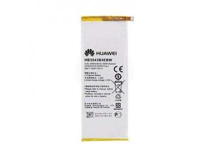 Huawei Ascend P7 - Výměna baterie
