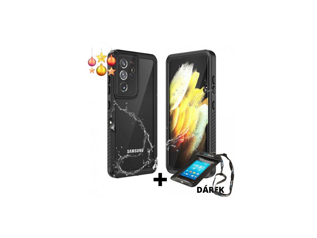Vodotěsné pouzdro pro Samsung Galaxy S21 ultra
