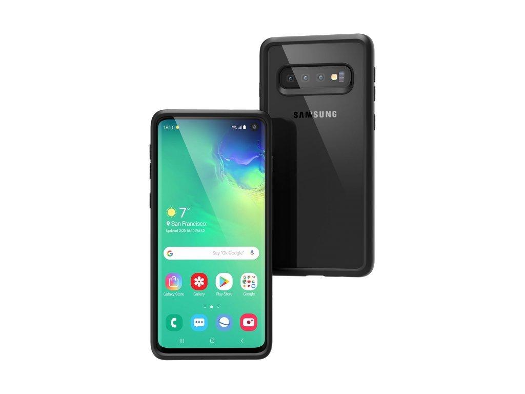 Vodotěsné pouzdro pro Samsung S10 (Barva černý)