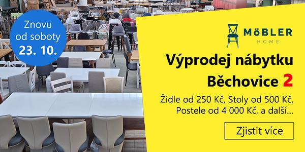 Výprodej skladu nábytku Běchovice 2