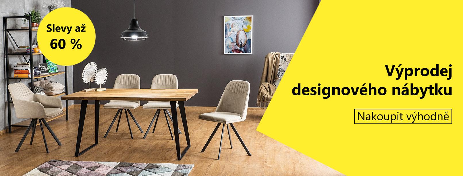 Slevy až 60 % - Výprodej designového nábytku