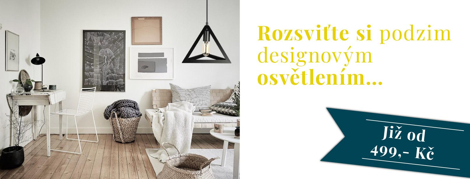Rozsviťte si podzim s naším designovým osvětlením