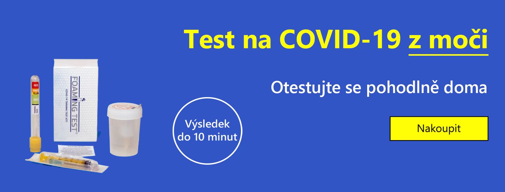 Test na COVID-19 z moči