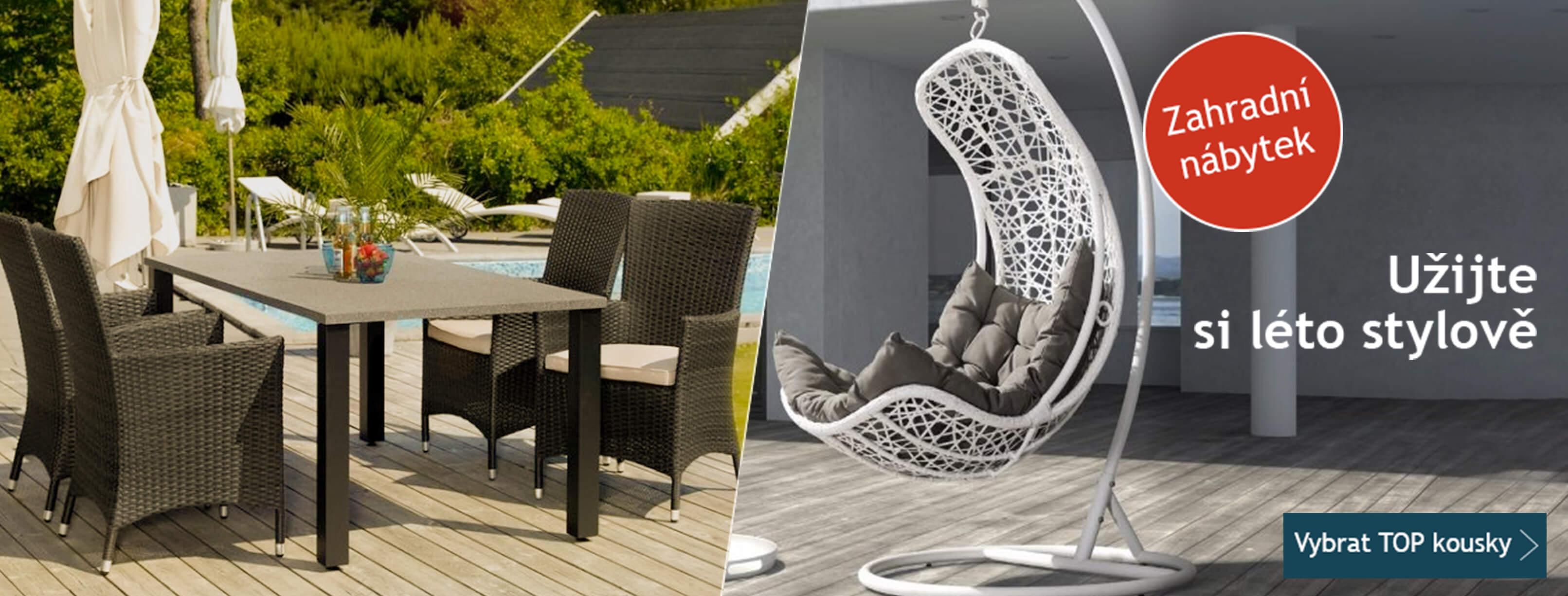 Zahradní nábytek - Užijte si léto stylově