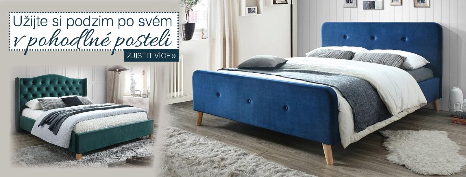 Užijte si podzim v pohodlné a stylové posteli!