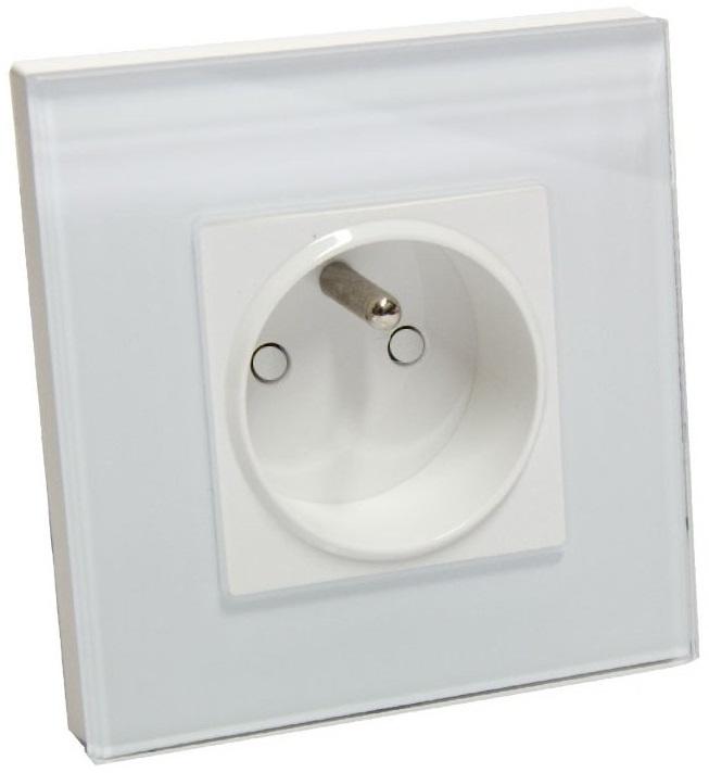 Vypínače osvětlení a zásuvky