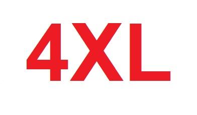 velikost 4XL a více
