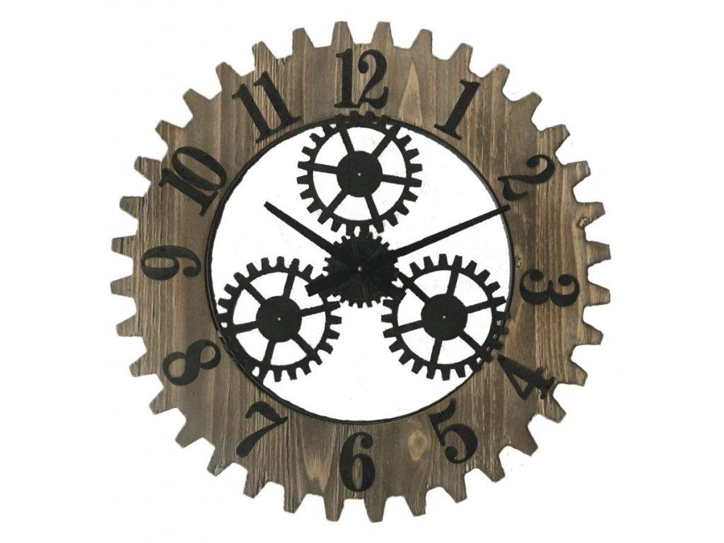 Nástěnné hodiny INGRANAGGIO PLUS