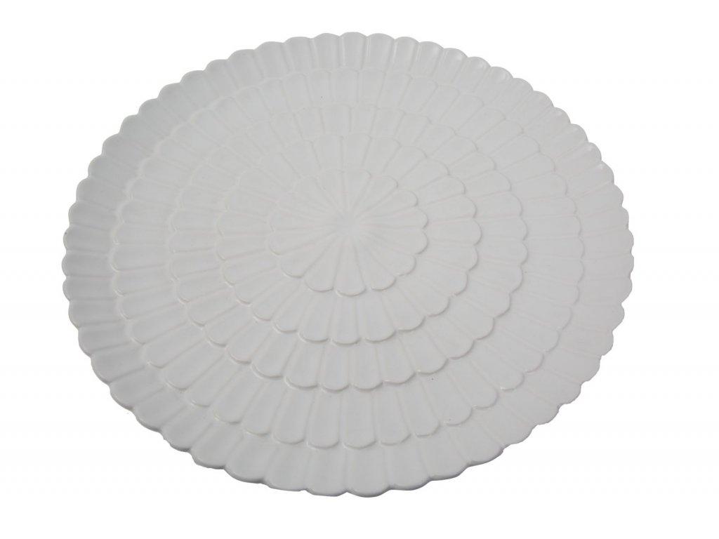 Dekorace FLOWER WHITE