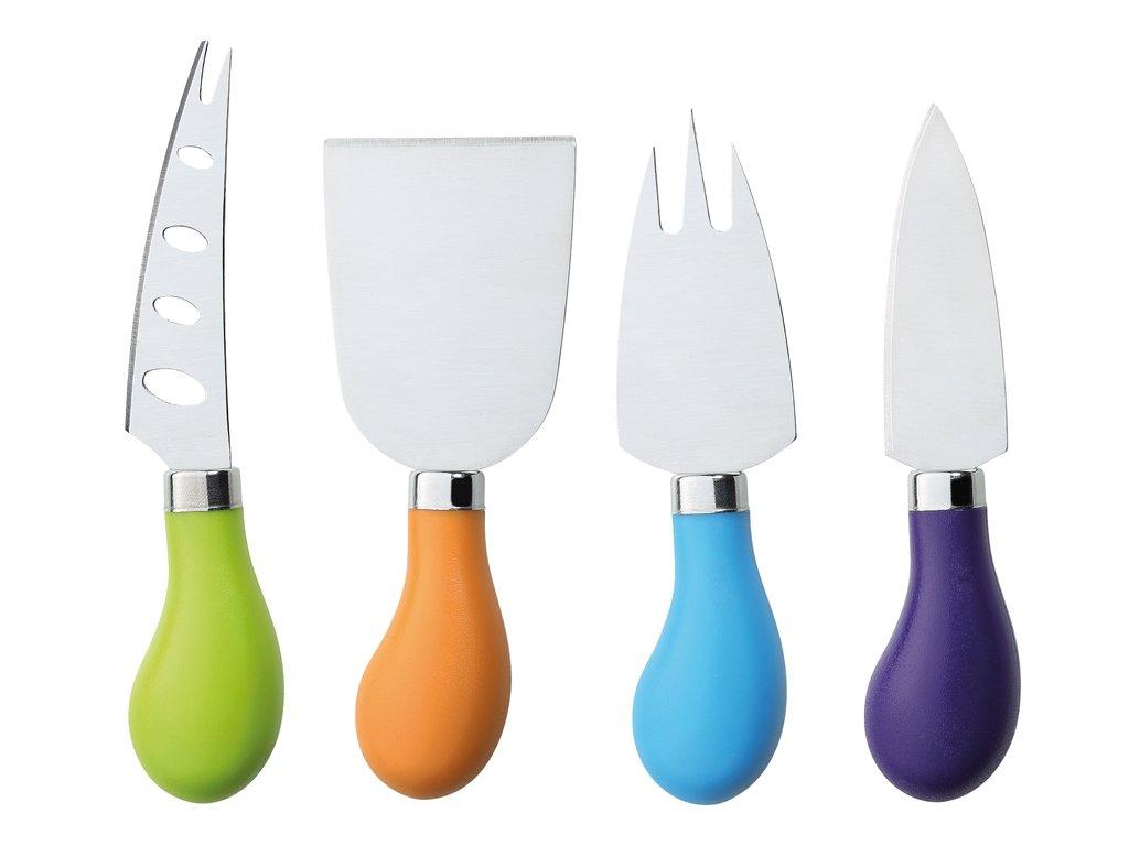 Nože na sýr set 4 pcs