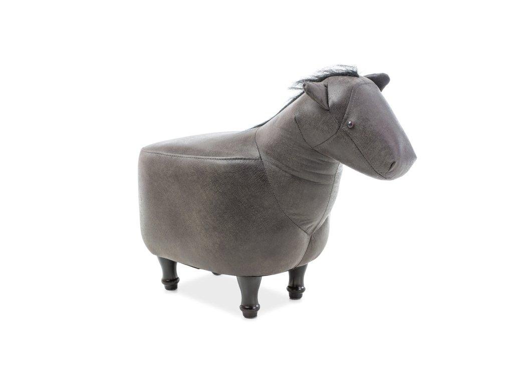 Koník KONRAD barva šedá