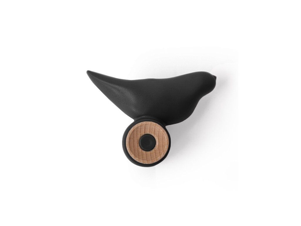 Věšák BIRD černý
