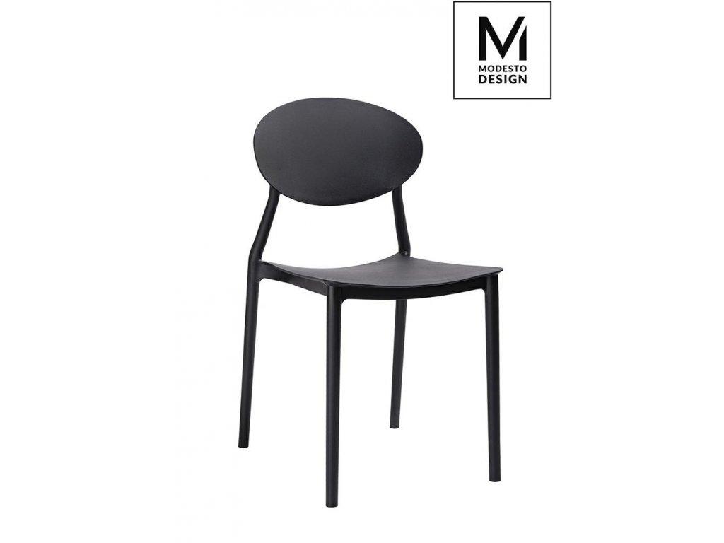 MODESTO židle FLEX černá - polypropylén