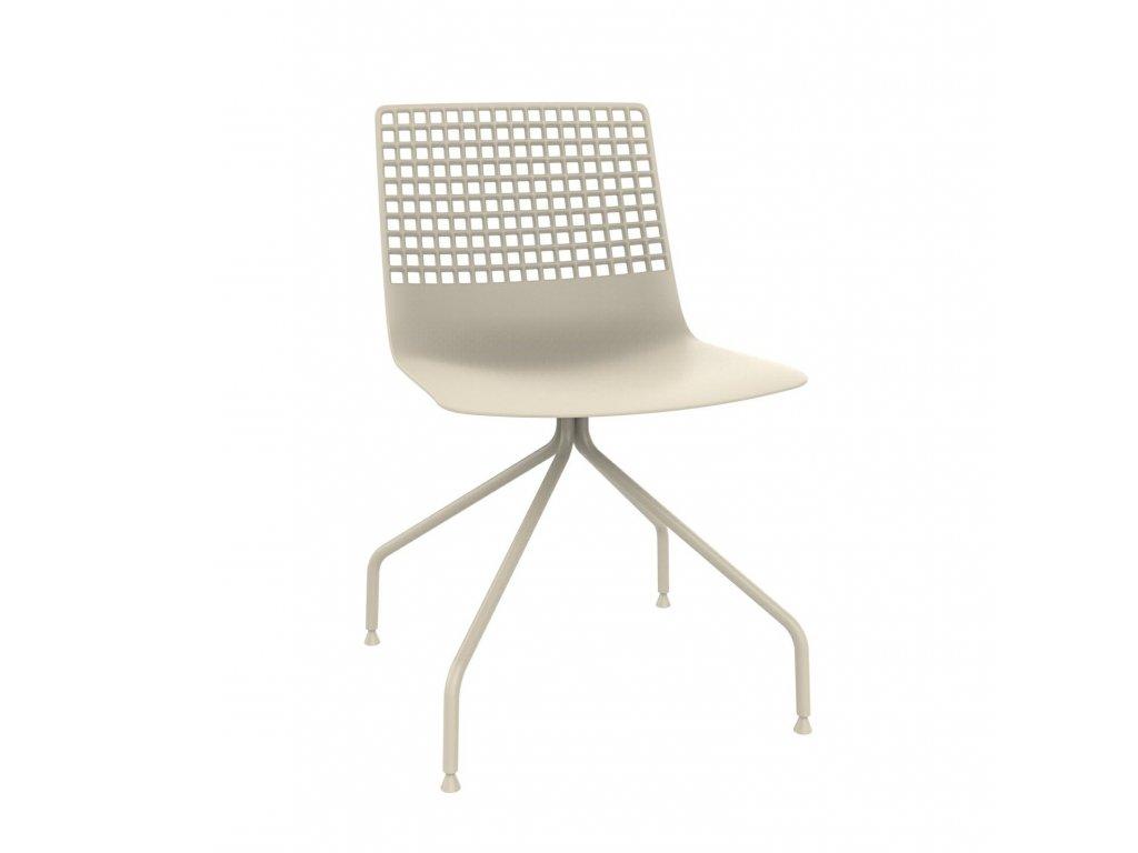 Židle Wire Arana světle béžová