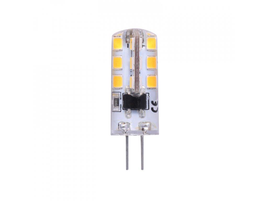 Žárovka LED G4 2W DC 12W teplá bílá
