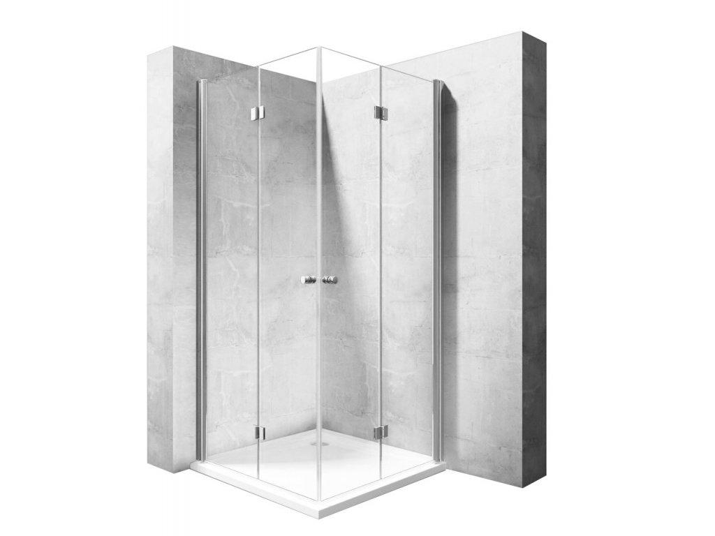 Kabina sprchová Fold N2 - Rozměry kabiny: 70 x 70 cm